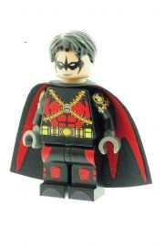 Red Robin Version 2 (Batman) - Custom Designed Minifigure